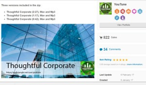 YOU TUNE Thoughtful Corporate best seller royalty free music 822