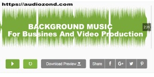 Background Music For Bussines And Video Production AudioZond